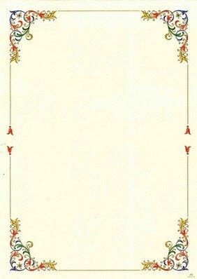 Pergamena da scrivere pictures to pin on pinterest for Immagine pergamena da colorare